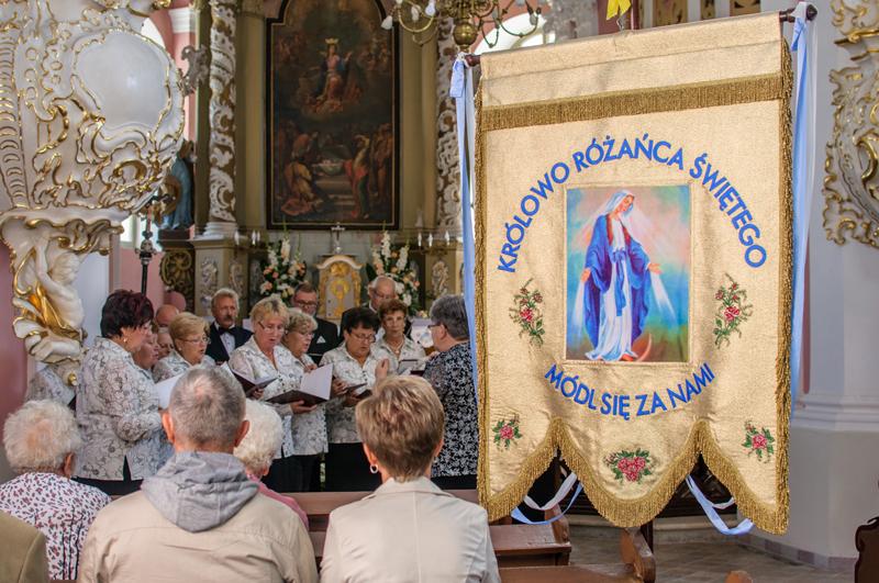 Wprowadzenie nowego proboszcza i odpust w kościele WNMP w Cieszkowie